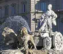 Cibeles Fountain - Wikipedia